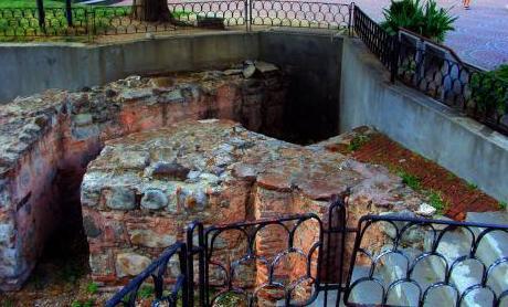 Древна Сердика - римски терми и храм