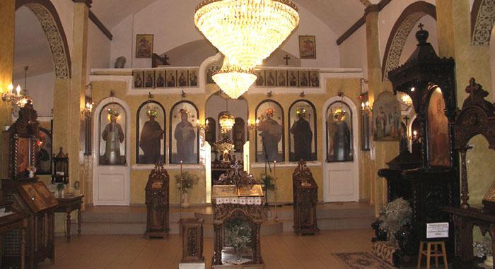 Church of St Andrey Parvozvaniy
