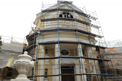 Sofia Municipality Renovates the Baths Building in Bankya