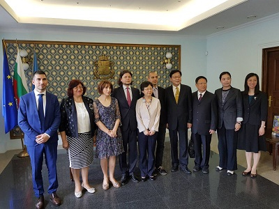 Delegation from Shanghai Exchanged Knowledge and Ideas with Sofia Municipality