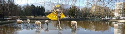 Visitors to Yuzhen Park in Sofia will be greeted by Water Grazing by Pavel Koychev